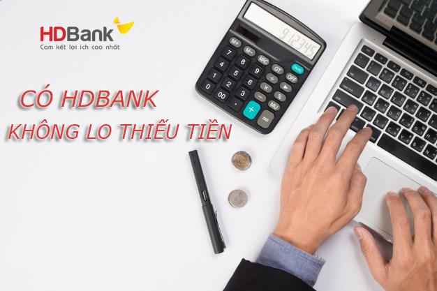 Hướng dẫn vay tiền HDBank không thế chấp