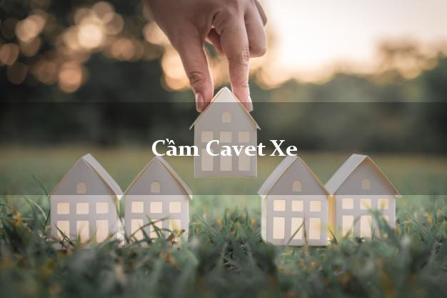Cầm Cavet Xe cần gì?